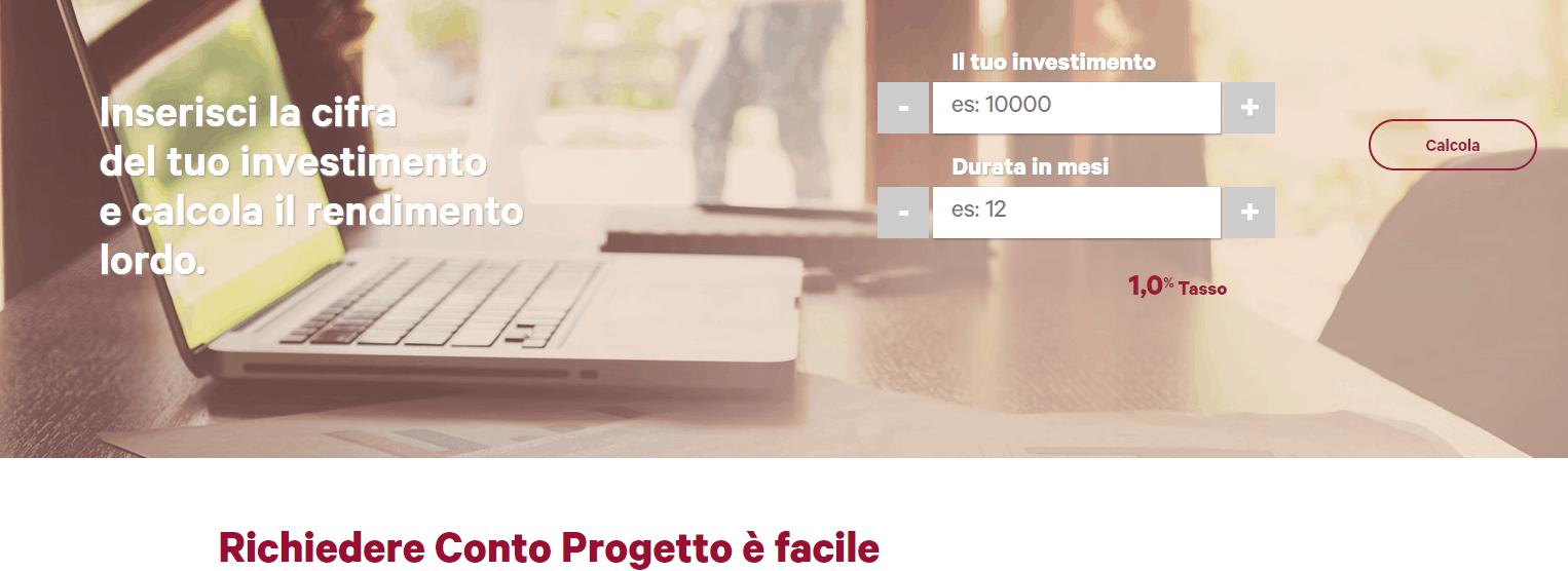 Conto Progetto: il conto deposito di Banca progetto