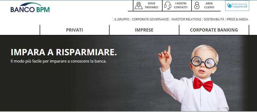 Conto deposito Banca Popolare di Milano (BPM): tassi, costi e opinioni