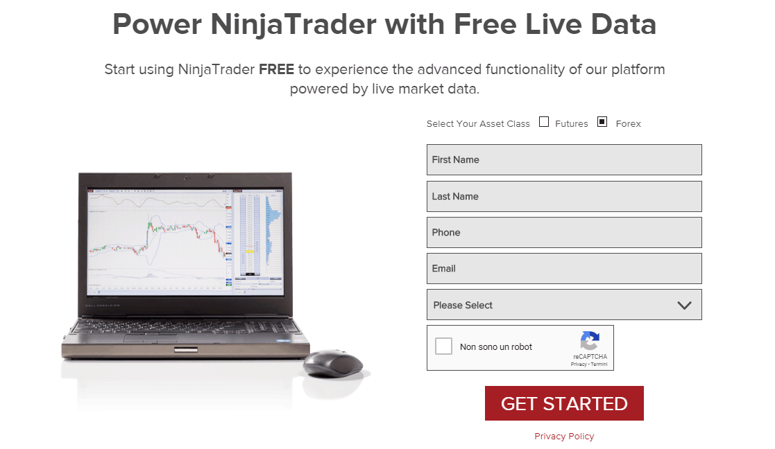 Ninjatrader demo