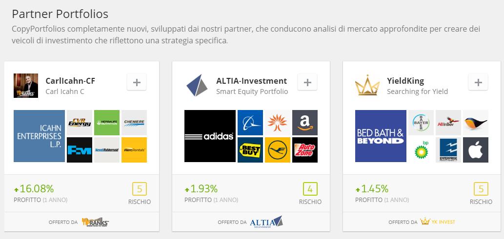 Partner Portfolios