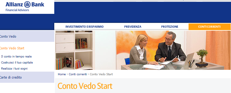 conto vedo star allianz