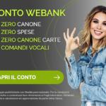 Conto corrente Webank: conviene? Opinioni, costi e analisi del conto di banca Webank