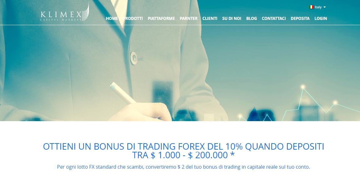 Klimex bonus