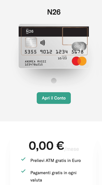 N26 - Mastercard