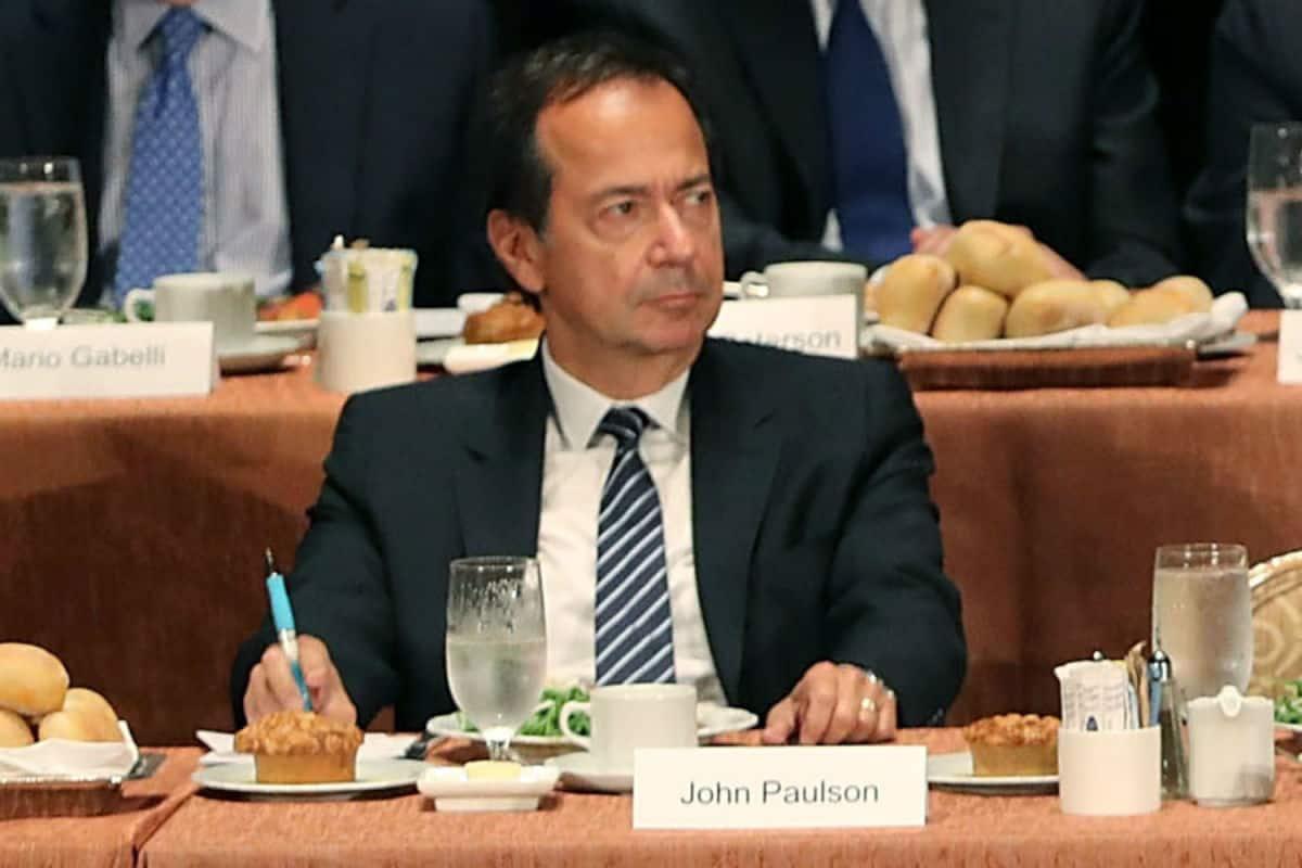Chi è John Paulson
