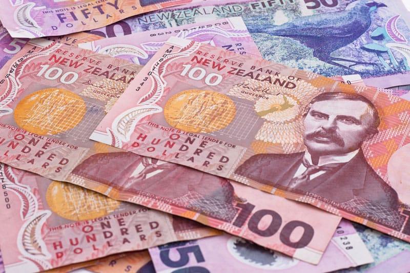 Moneta Nuova Zelanda
