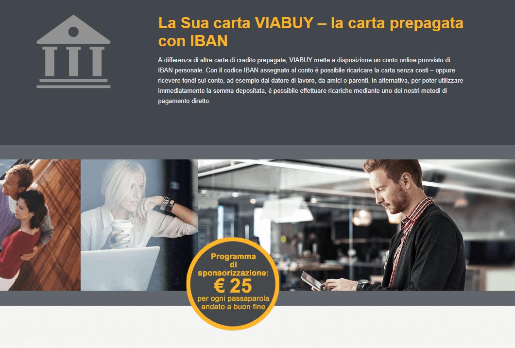 ViaBuy costi