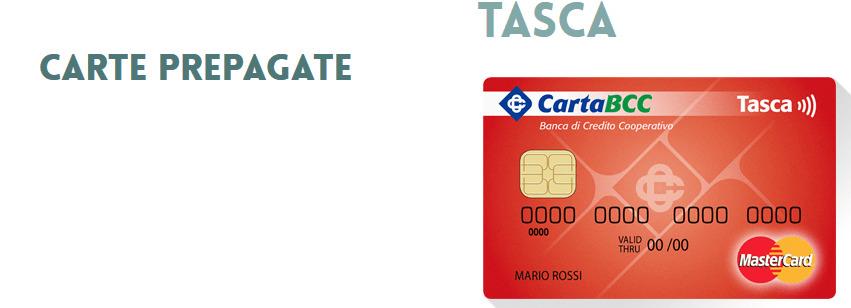 Carta prepagata Tasca BCC