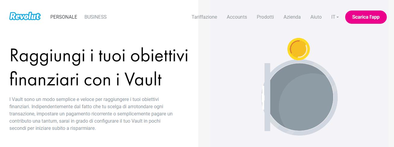 Revolut Vault