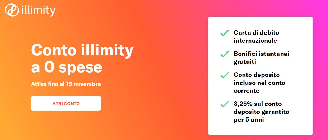 Illimity Conto corrente