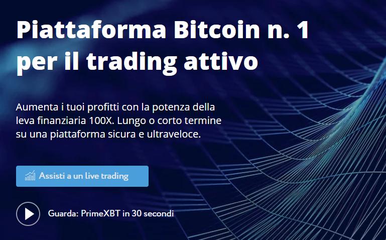 Piattaforma PrimeXBT