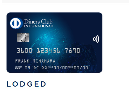 diners club lodged