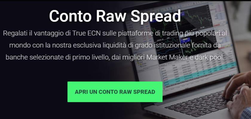 Standard vs Raw Spread IC Markets