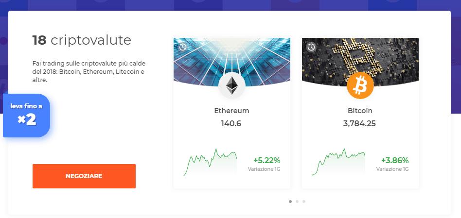 piattaforma cryptotrade investimento bitcoin reso nullo