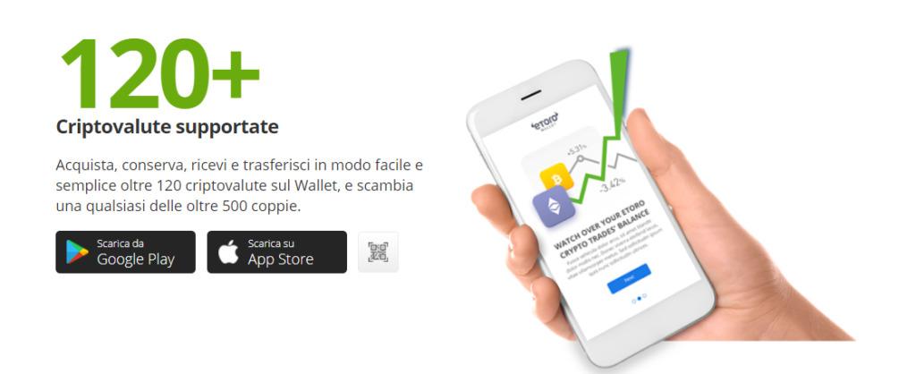 eToro Wallet come trasferire denaro