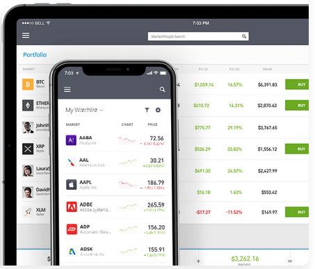 Migliori app trading eToro